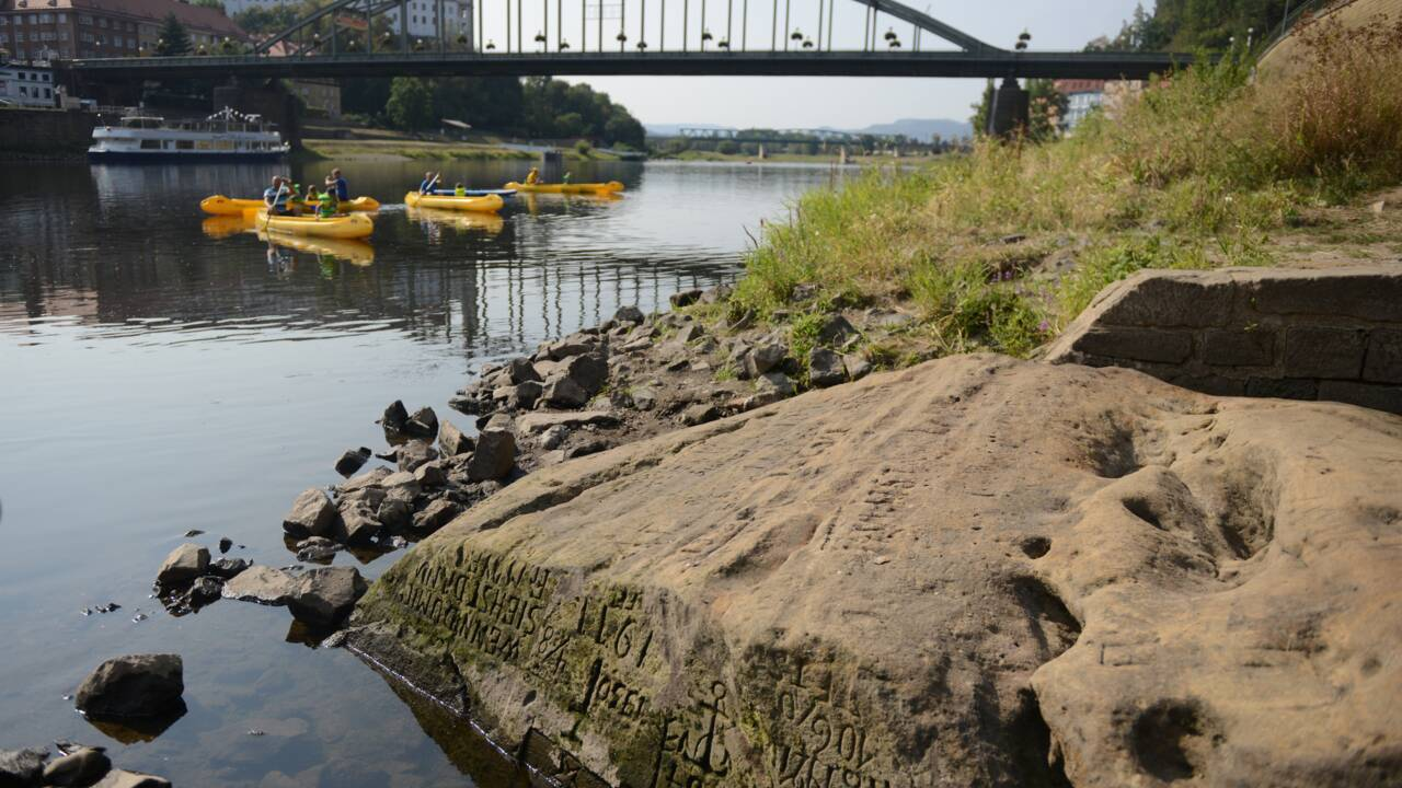 En République tchèque, la sécheresse gravée dans la pierre