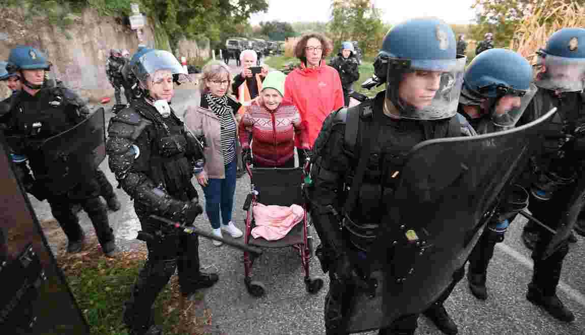 Opération éclair de 500 gendarmes pour évacuer une ZAD près de Strasbourg