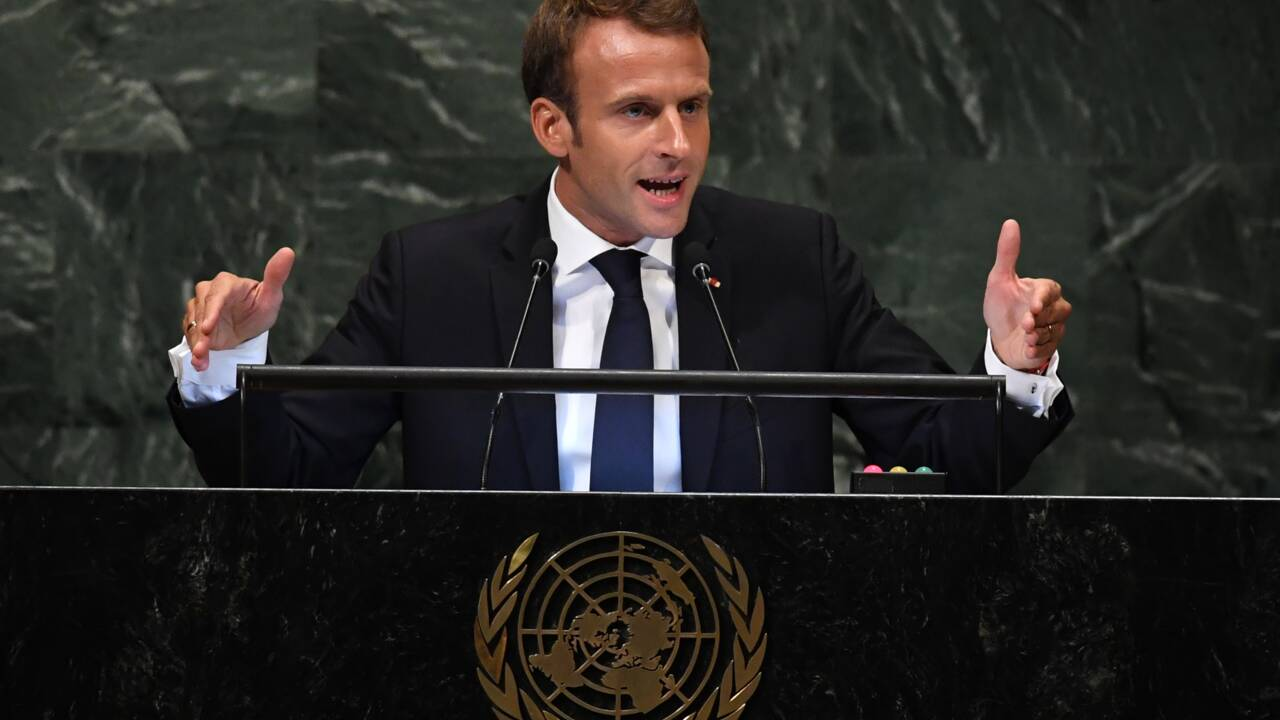 Macron conditionne tout accord commercial au respect de l'accord de Paris