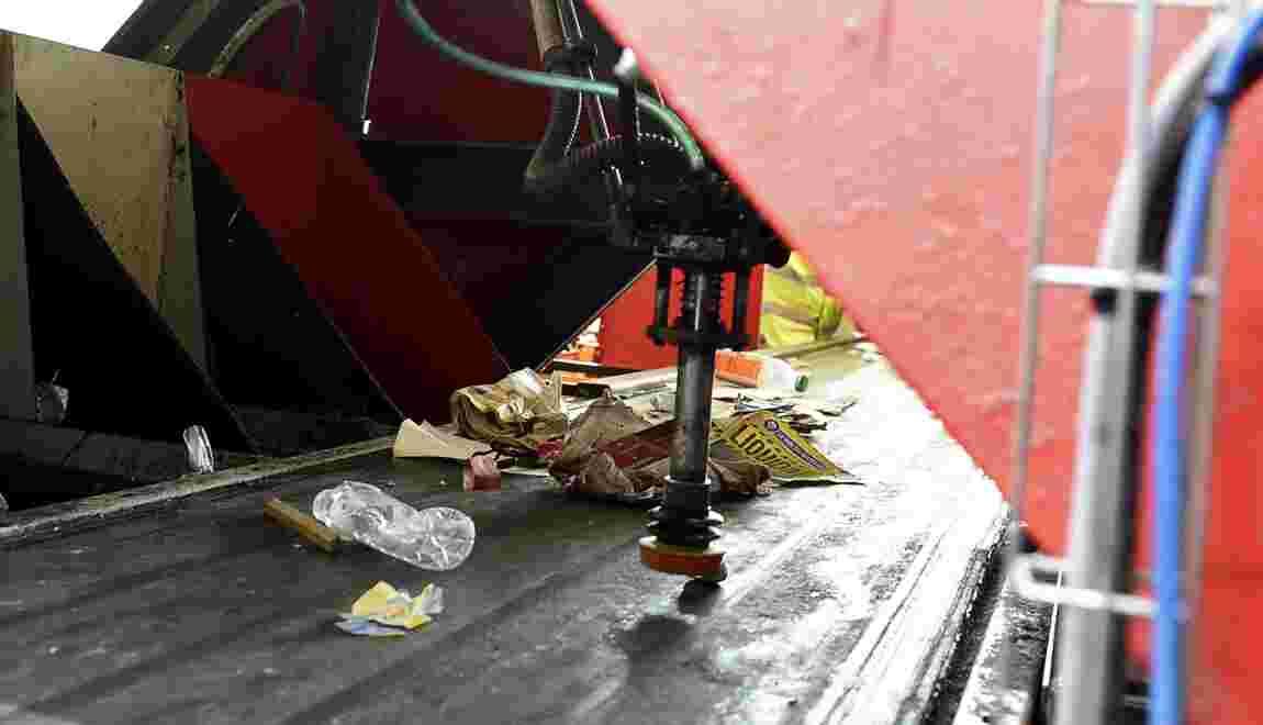 A Amiens, un robot intelligent promet d'améliorer le tri des déchets