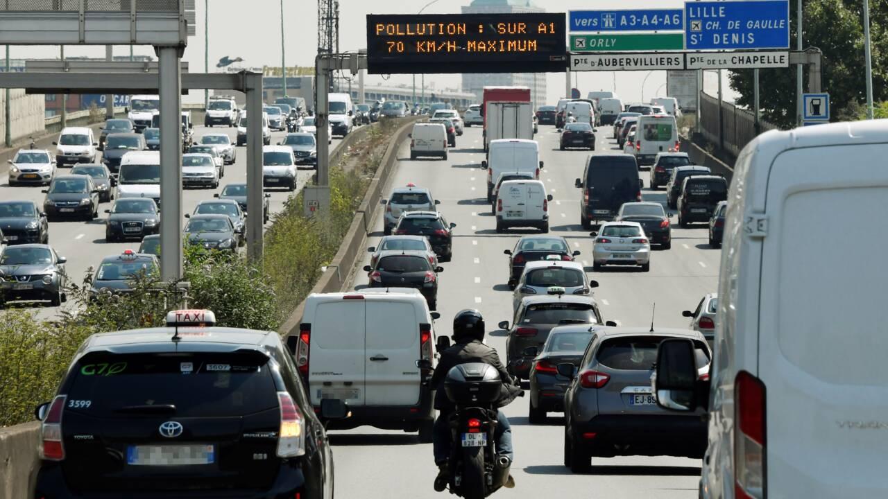 Interdiction des véhicules les plus polluants dans le Grand Paris dès juillet
