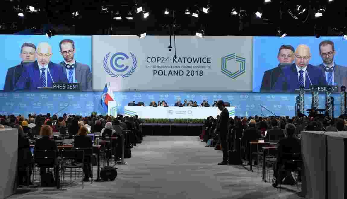 COP24 : le monde appelé à faire plus pour limiter les catastrophes climatiques