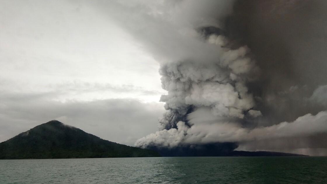 Indonésie: l'Anak Krakatoa a perdu les deux-tiers de sa hauteur