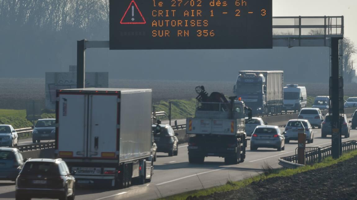 Pollution de l'air aux particules fines de la Bretagne à la Normandie