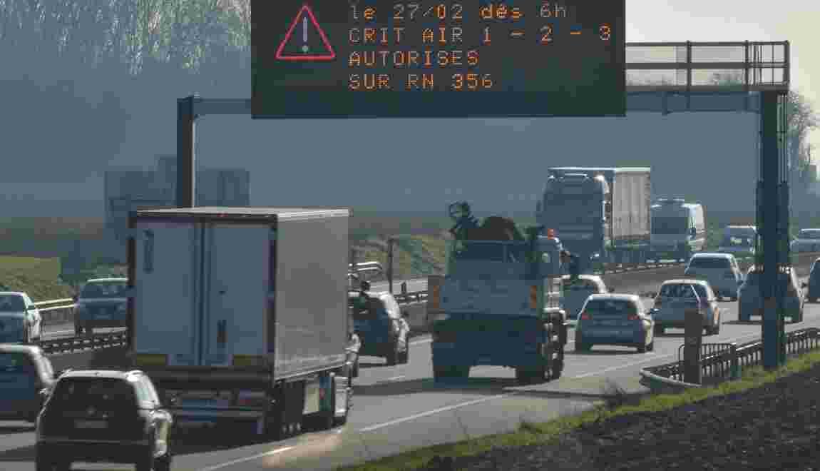 Interdiction vendredi des véhicules les plus polluants à Lille