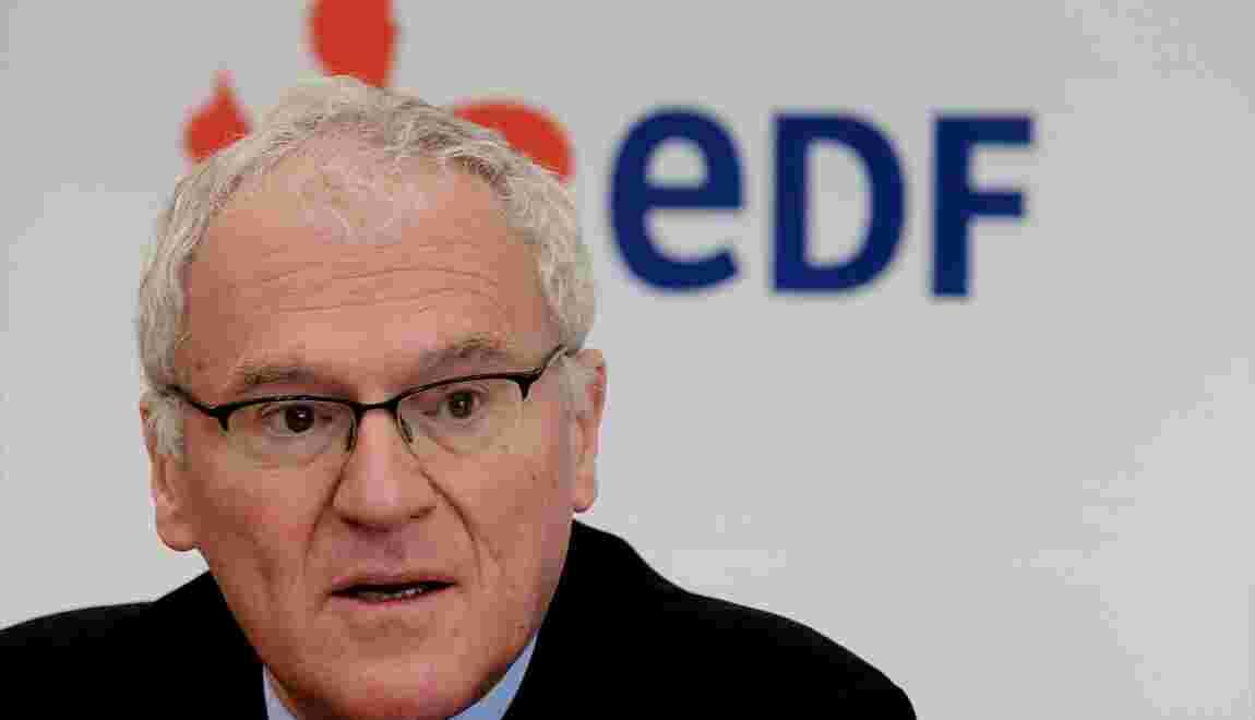 """EDF: le PDG Jean-Bernard Lévy repart pour quatre ans et une série de """"défis"""""""