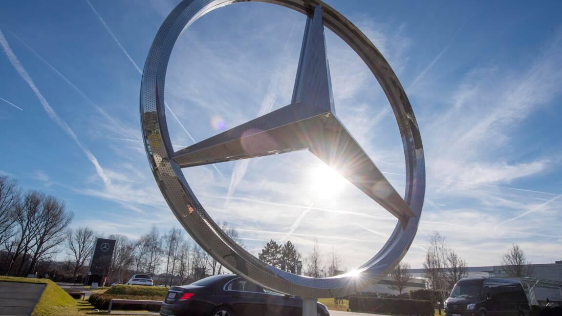 Mercedes veut abandonner d'ici 2039 les moteurs traditionnels à combustion