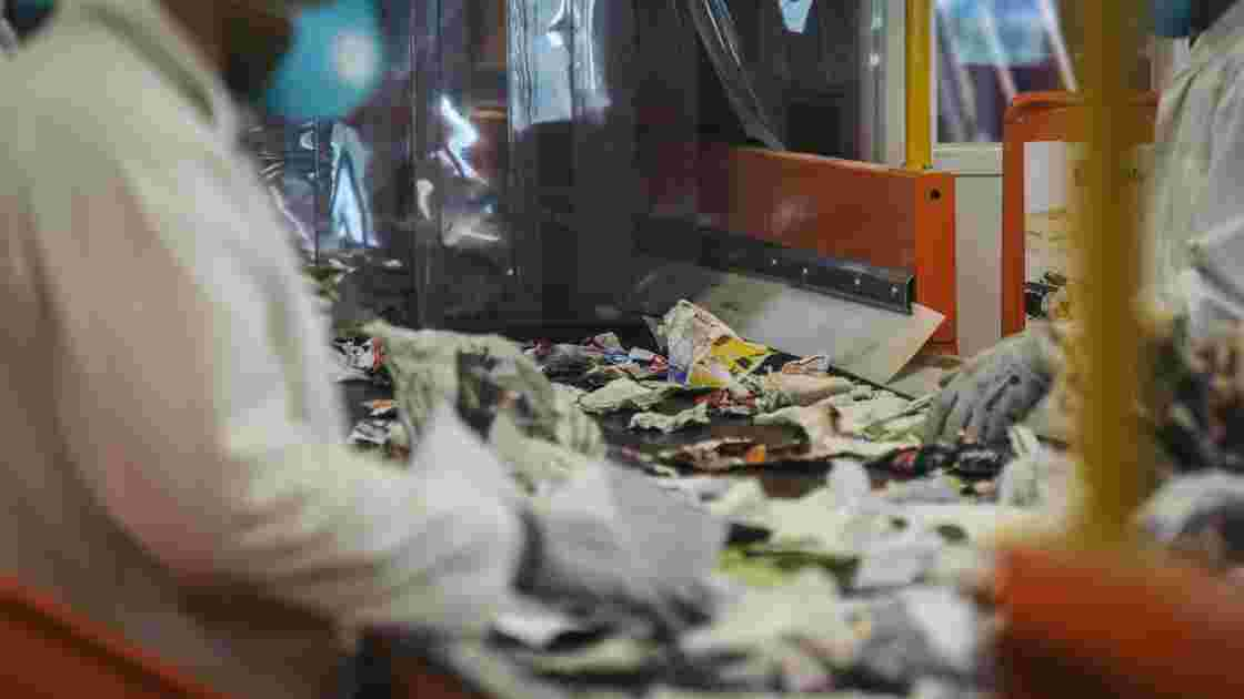 Un nouveau centre de tri de déchets inauguré à Paris