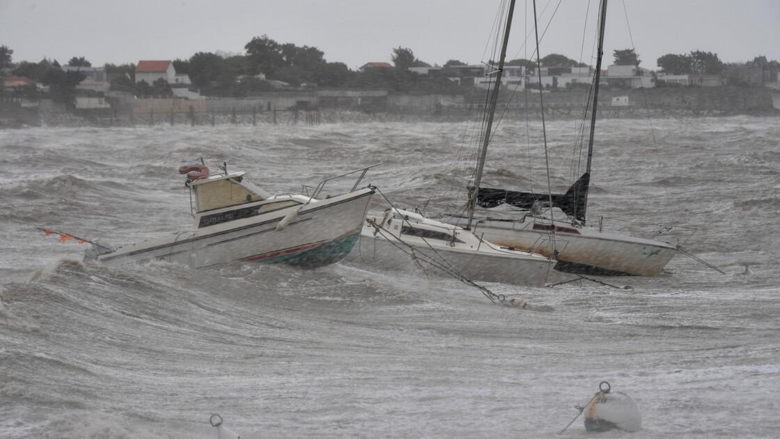 Tempête Miguel: pluie et vents violents, huit départements en vigilance orange