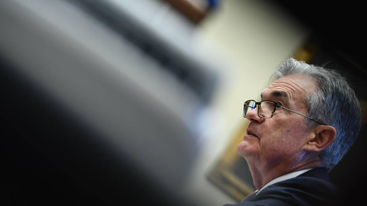 """Powell, le patron de la Fed, croit """"au changement climatique"""""""