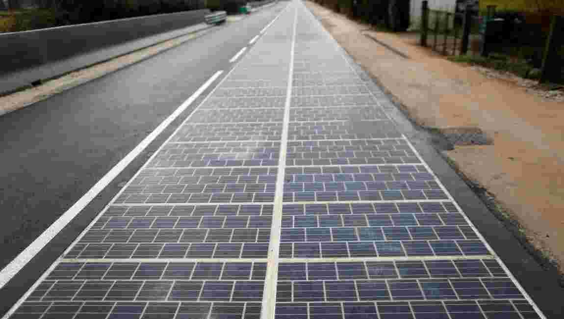 """Dans l'Orne, la première route solaire au monde est un """"échec"""""""