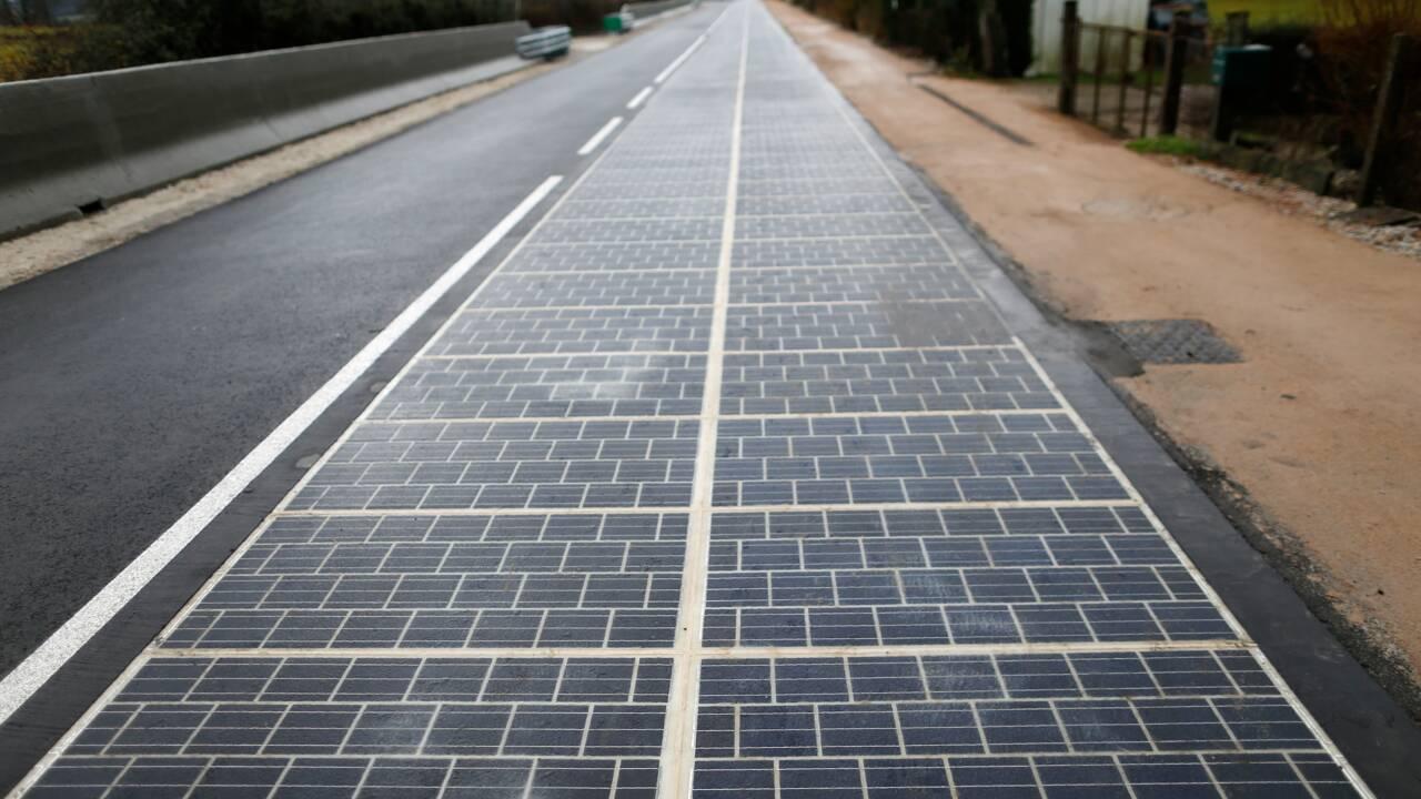 """En France, la """"première route solaire du monde"""" est un échec"""