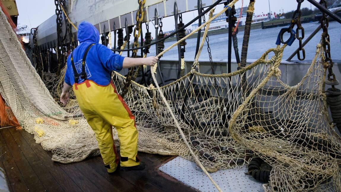 France: contre la pêche électrique, des bateaux perturbent le trafic au port de Calais