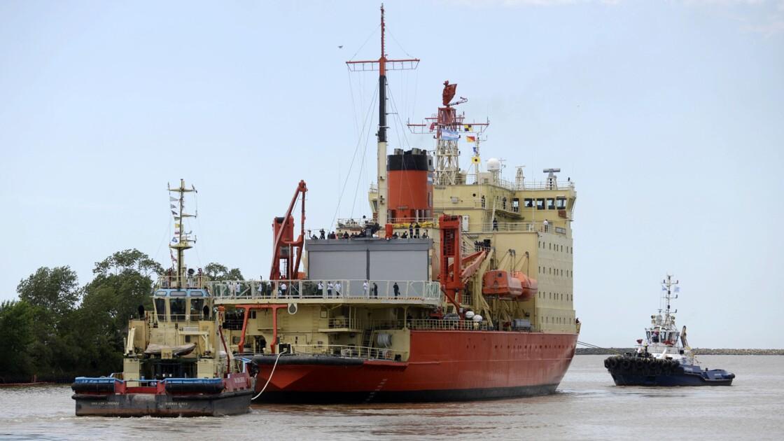 Le brise-glace argentin Irízar fait son retour à l'Antarctique