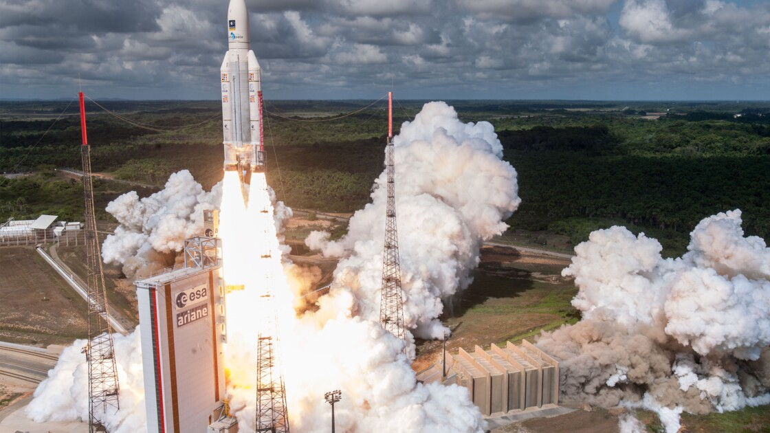 Arianespace: dernier lancement de l'année réussi