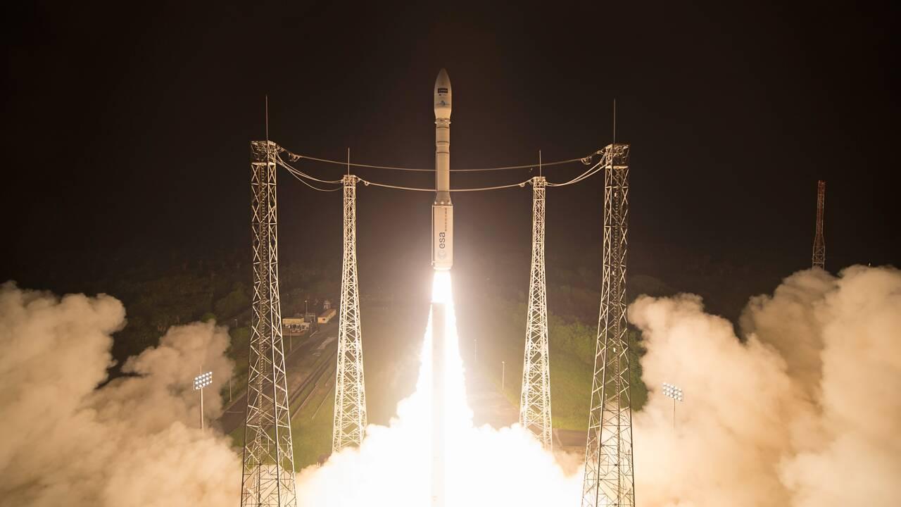 Une fusée Vega met sur orbite un satellite d'observation de la Terre