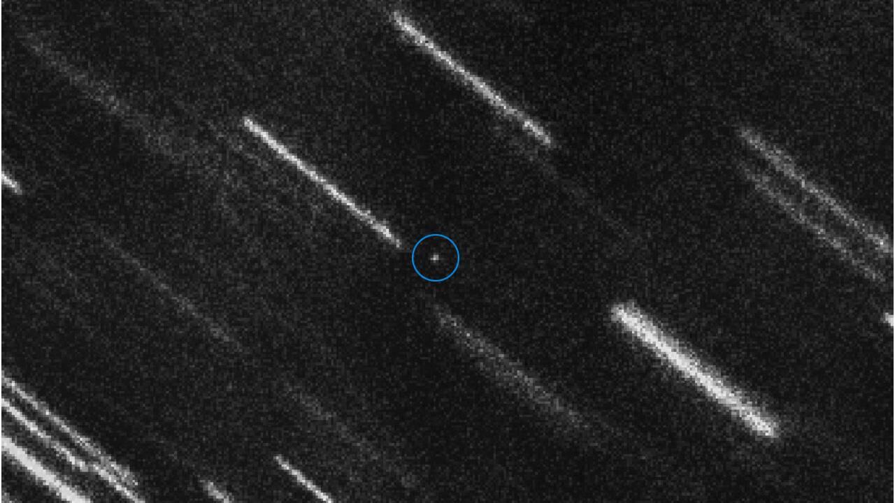 Le passage d'un astéroïde surveillé de très près
