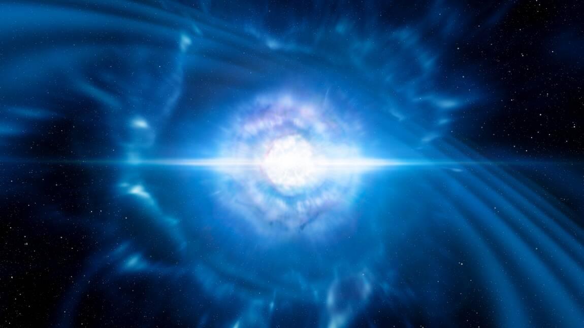 Première observation d'une fusion d'étoiles à neutrons