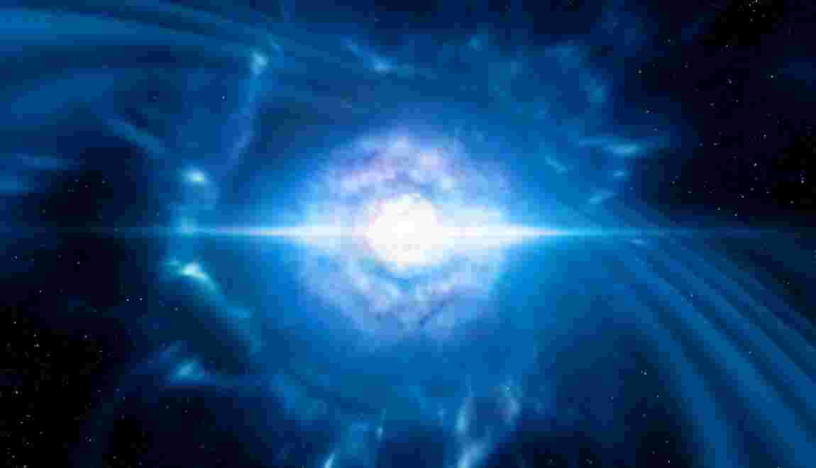 La fusion de deux étoiles à neutrons désignée découverte de l'année