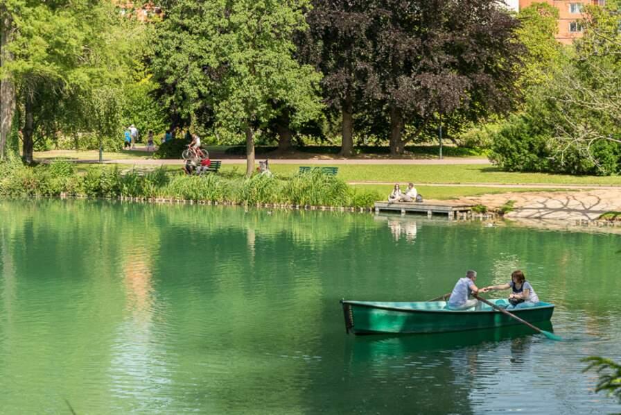 Le Parc de la Tête d'Or, à Lyon