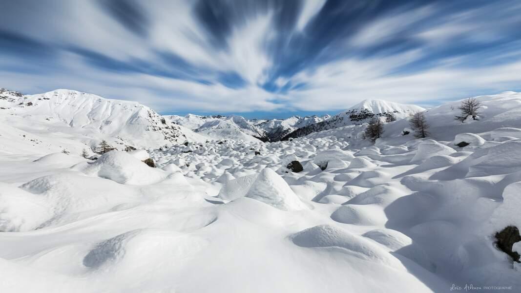 Le Mercantour sous la neige, en France, par Loïc Athenon/ Communauté GEO