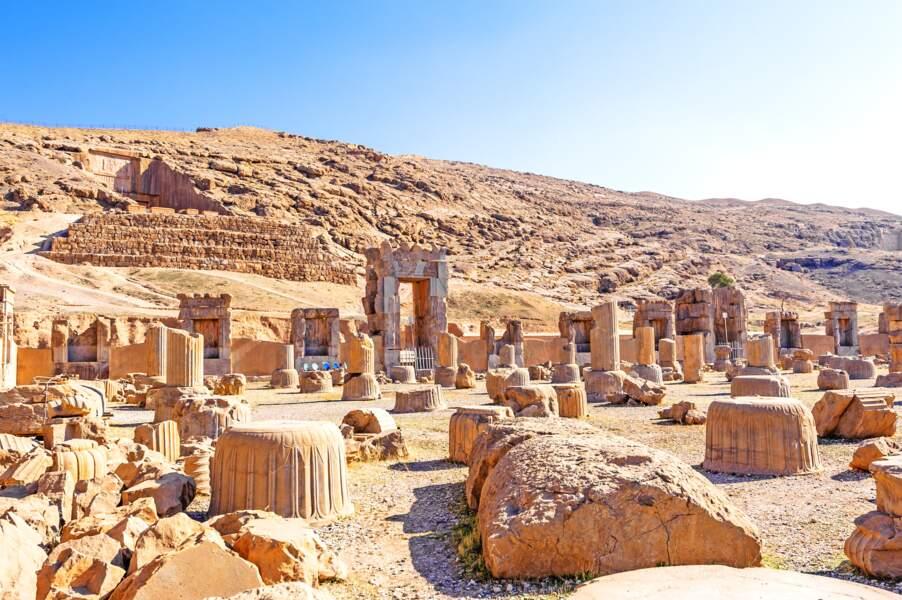 Vestiges millénaires de Persépolis