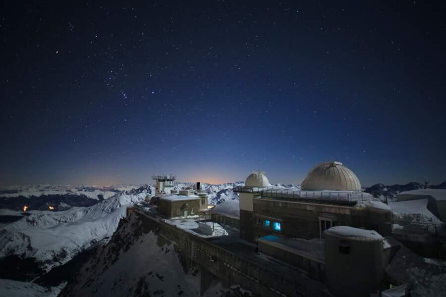 L'Observatoire du pic du Midi de Bigorre, perché à 2876 m d'altitude