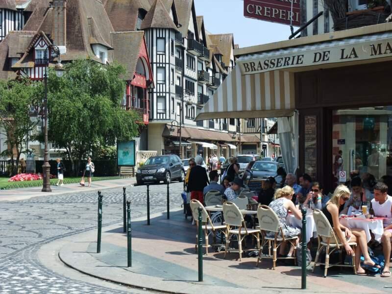 Deauville, un centre-ville dynamique
