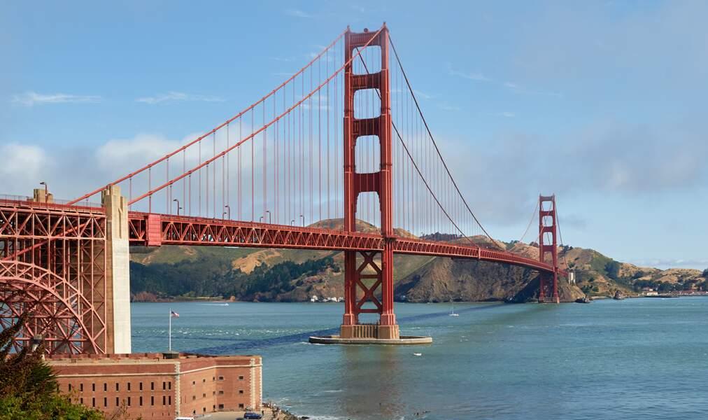 9 - Le pont du Golden Gate à San Francisco, Etats-Unis
