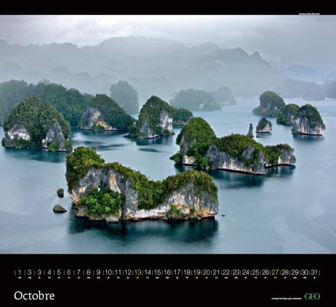 Kabui Bay, archipel des Raja Ampat Indonésie
