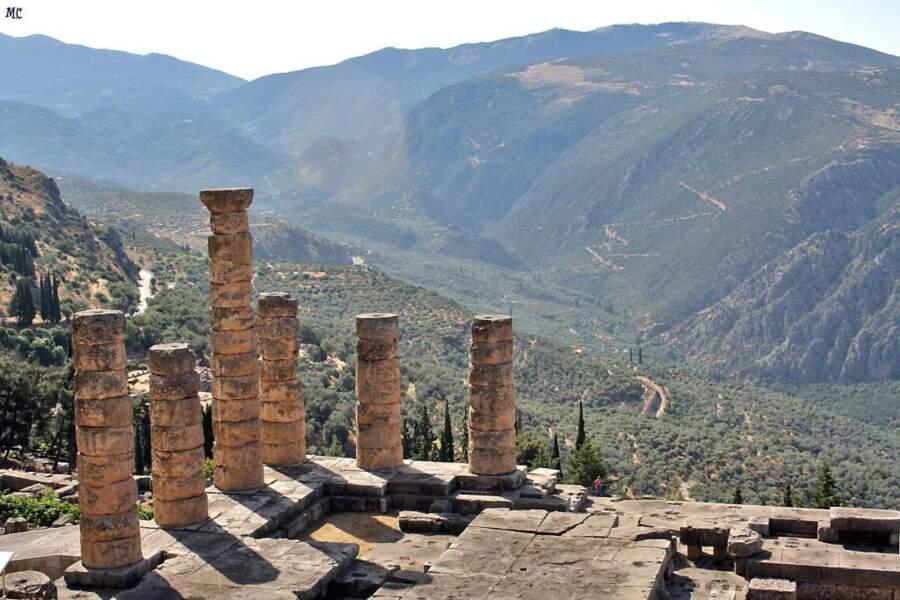 Temple d'Apollon, Delphes