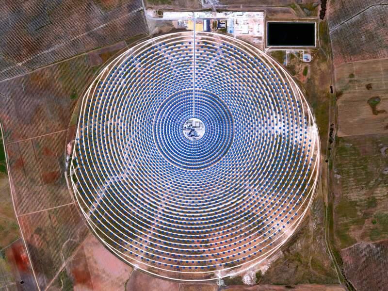 Une centrale électrique en Espagne