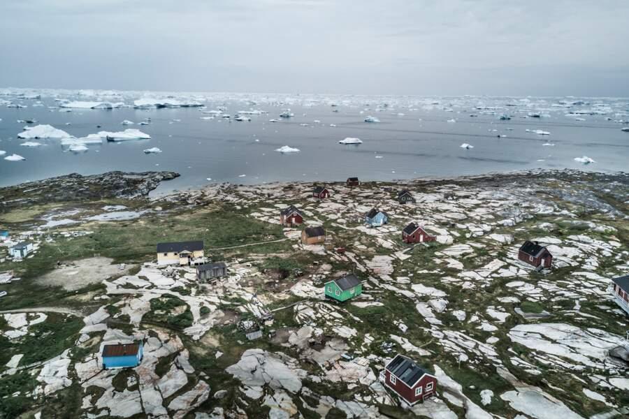 Chambres avec vue sur icebergs