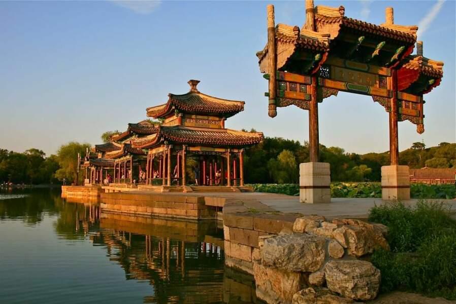 Photo prise au Parc impérial de Chengde (Chine) par le GEOnaute : charles-louis