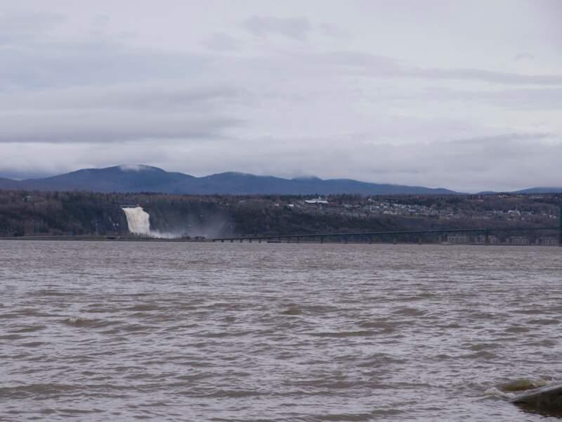 L'impressionnante chute Montmorency