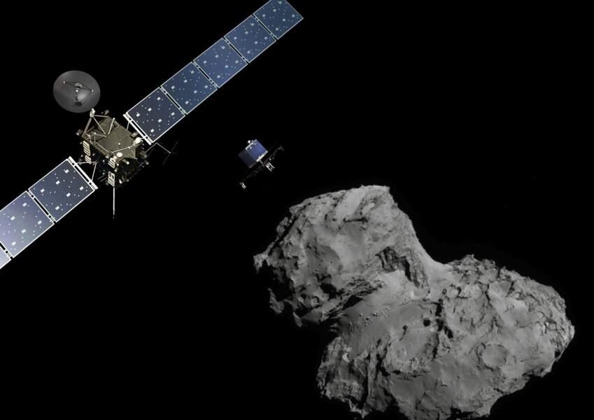 2014 – Les prouesses de Rosetta et Philae