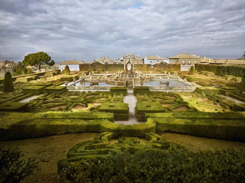 Villa Lante : ces allées sages dissimulent quelques farces