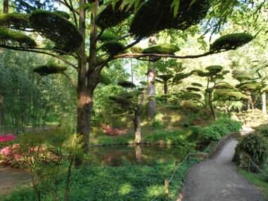 Le jardin japonais du Parc Oriental de Maulévrier