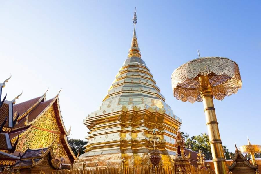 Le stūpa de Wat Phrathat Doi Suthep