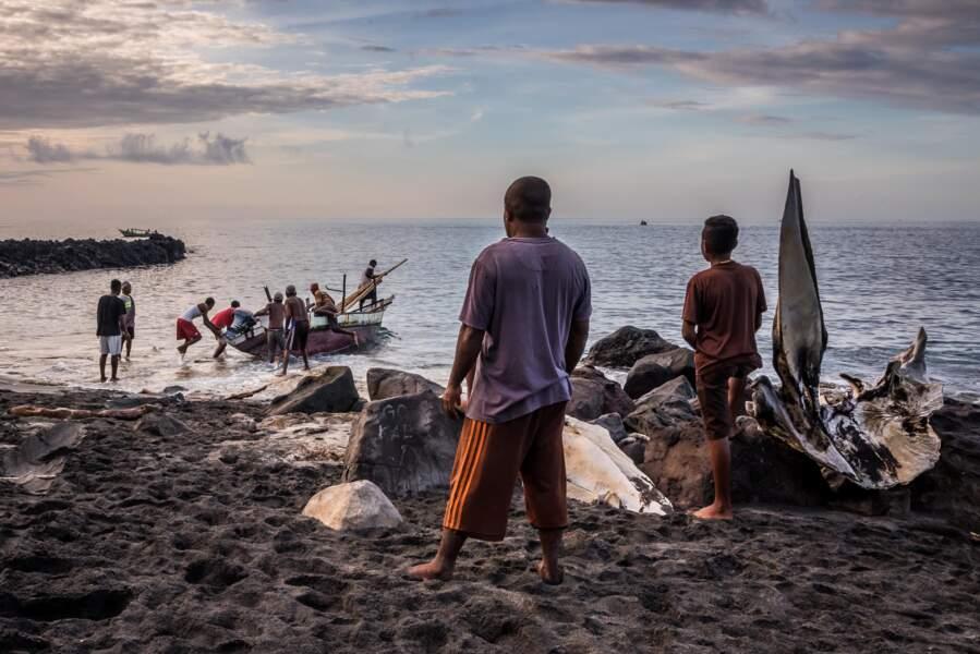 Départ des pêcheurs