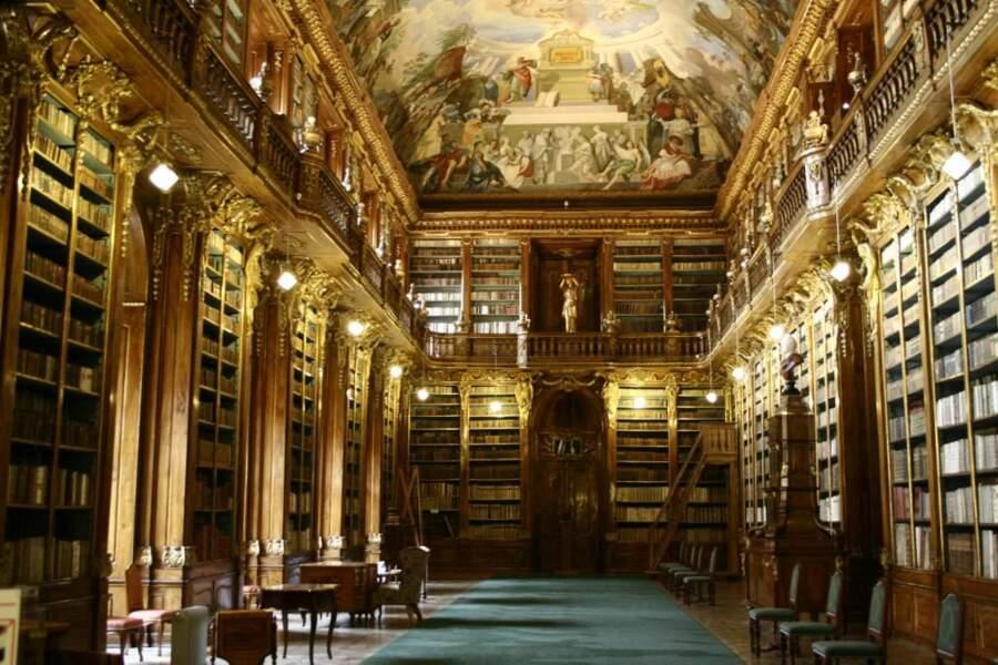 Salle philosophique du monastère Strahov