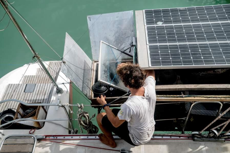 Le four solaire, déniché en Inde