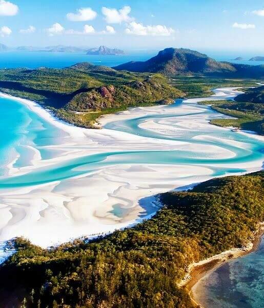 Les Whitsundays, en Australie
