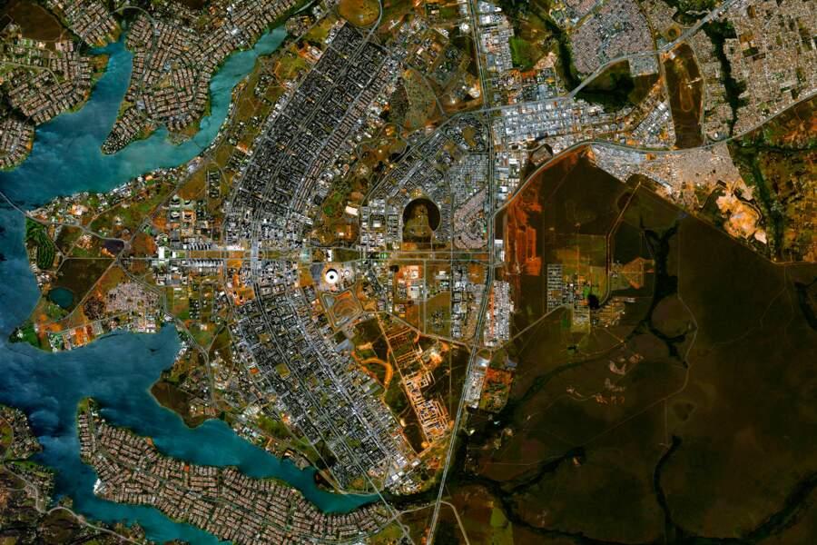 La ville de Brasilia au Brésil