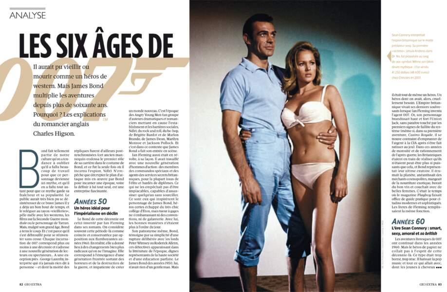 ANALYSE - Les six âges de 007