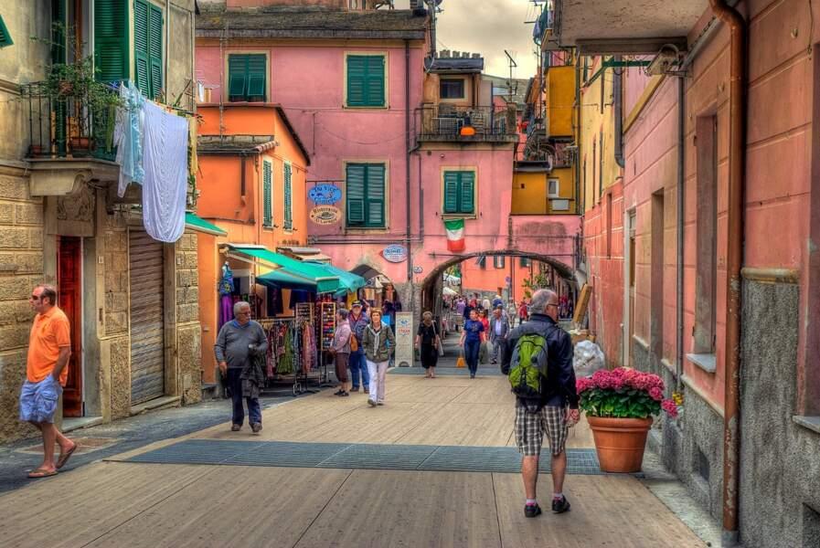 Le centre historique de Monterosso Al Mare