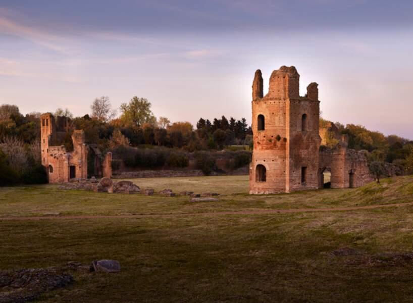 Ruines du cirque de Maxence, près de Rome