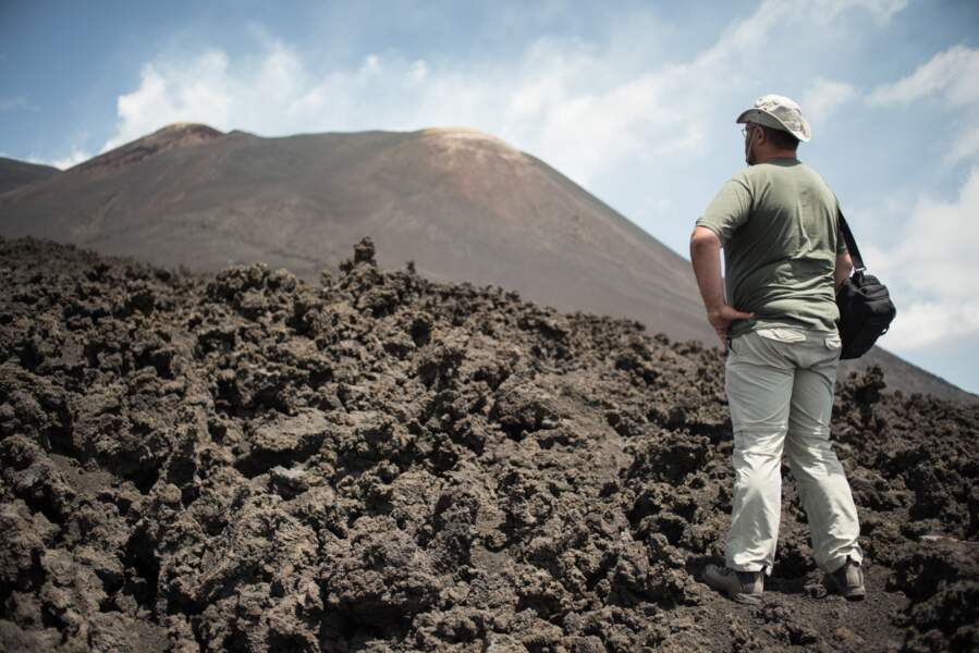 L'activité volcanique modifie constamment le terrain