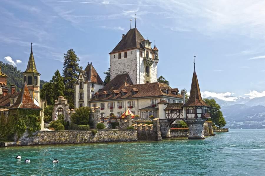 Château d'Oberhofen, Suisse