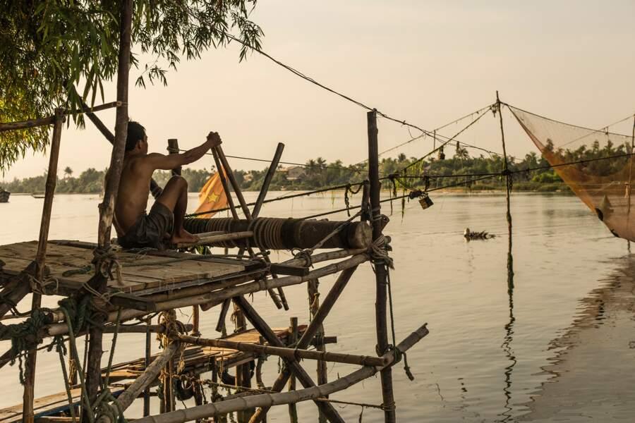 Pêcheur à Hôi An, par Catherine Bourdin / Communauté GEO